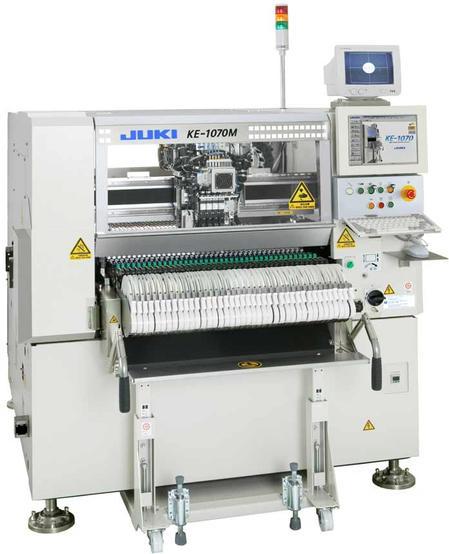 Juki KE-1070, High Speed Chipshooter.