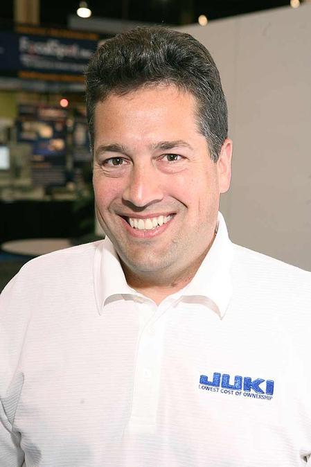 Steve Nadeau, Juki's National Sales Manager