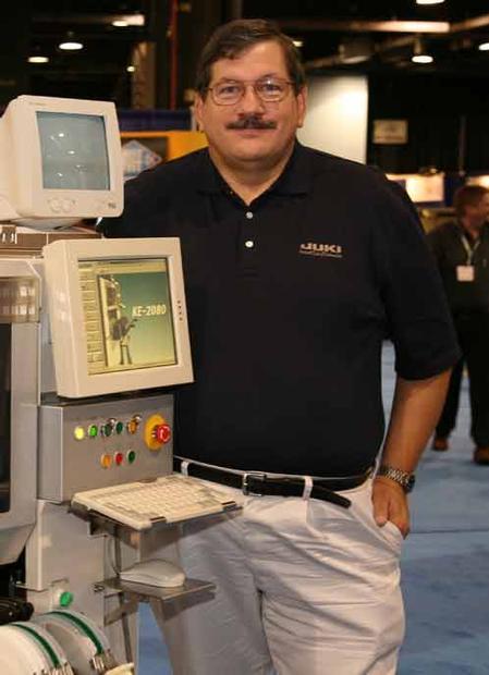 Bob Black, Juki's president and CEO.