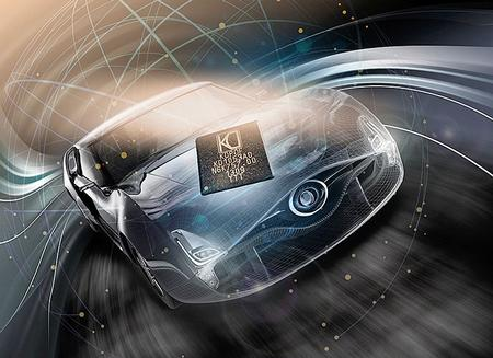 KDPOF starts shipping of the automotive gigabit Ethernet POF transceiver KD1053