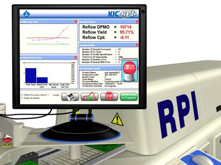 The KIC RPI helps manage reflow ovens to consistently maximize the desired results.
