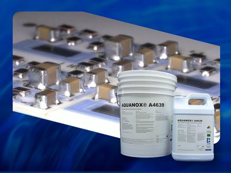 A4639 Electronic Assembly Aqueous Solution