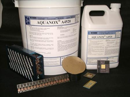 A4520 is a highly tested aqueous cleaner for flip chips and advanced packaging.