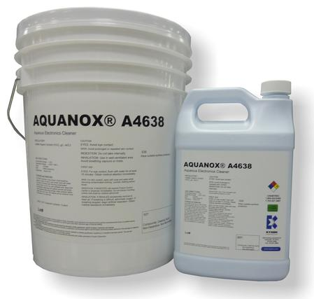 AQUANOX® A4638 Advanced Packaging Cleaning Chemistry.