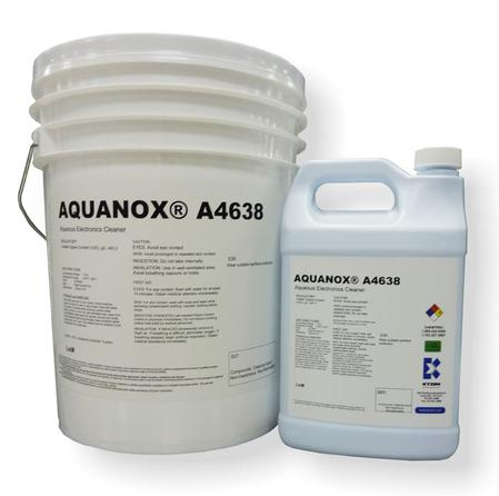 AQUANOX® A4638 is an engineered electronics assembly and advanced packaging cleaning agent.