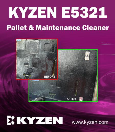 Kyzen E5321 - Pallet & Maintenance Cleaner