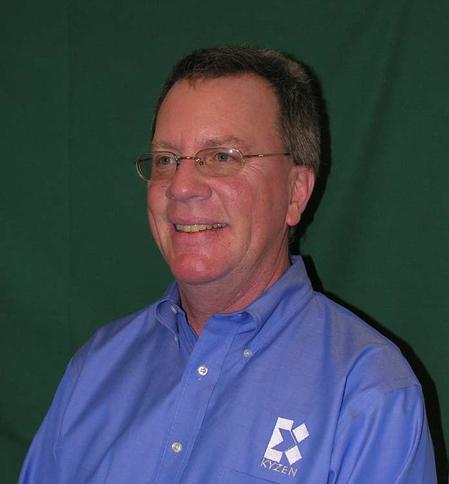Jack Reinke, Kyzen's Southeastern Regional Sales Manager