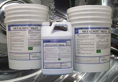 METALNOX® Solvent and aqueous precision cleaning chemistries specifically formulated for removing tough soils used in the Metal Finishing  industry.