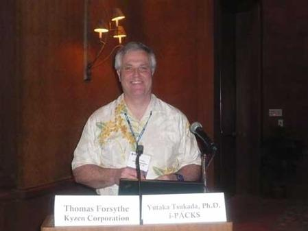 Kyzen's Tom Forsythe during the 2009 Pan Pacific Microelectronics Symposium, February 10-12, 2009.
