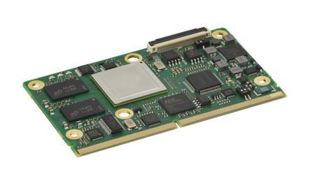 LEC-iMX6 SMARC® Module with Freescale i.MX6 System-on-Chip.