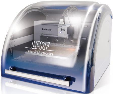 LPKF ProtoMat® S43 State-of-the-art rapid PCB prototyping in an entry-level package