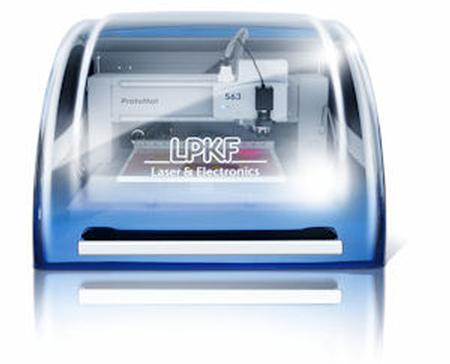 The LPKF ProtoMat S63 handles virtually any in-house prototyping application with ease and is configured for RF and microwave requirements.
