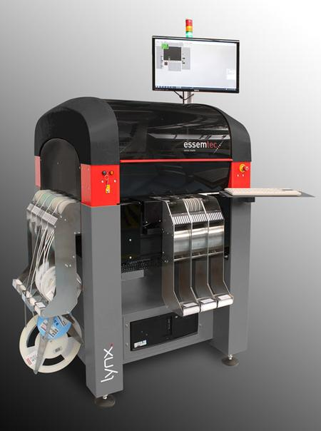 Lynx - highly flexible and accurate pick-and-place system