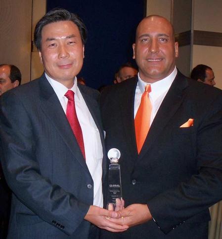 Chanwha Pak, CEO, Brian D'Amico, president of MIRTEC Corp