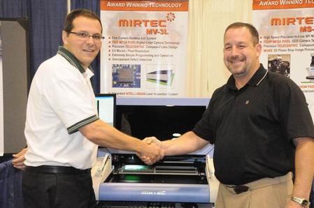 MIRTEC sold SMT-ASSY a MV-3L System during SMTAI .