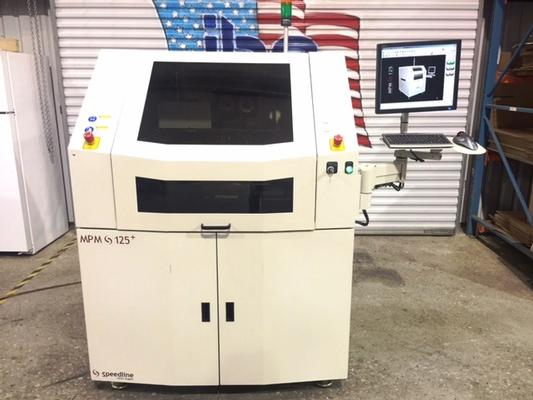 Speedline MPM 125+ Screen Printer