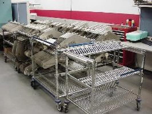 Contact Systems  carts and feeders