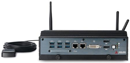 MXE-5400 - Powerful 4th Generation Intel® Core™ i7 Processor-Based Fanless Embedded Computer.