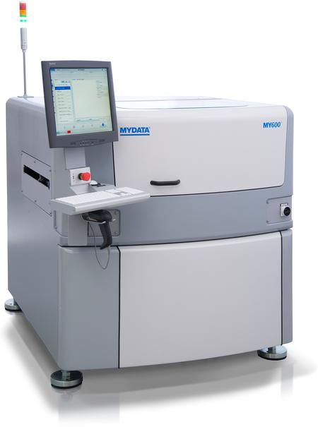 Used as a jet dispenser, the MY600 achieves micrometer precision while delivering throughputs 2 to 10 times higher than those of traditional dispensers, depending on the application.