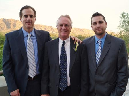 From left to right: Scott J. MacAllister, Scott A. MacAllister and Alex MacAllister.