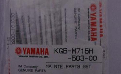Yamaha Maintenance seals(KGB-M715H-50