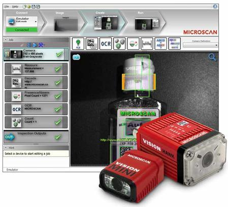 Microscan's AutoVISION™ Machine Vision Software is the easiest machine vision software available for basic to mid-range vision applications.
