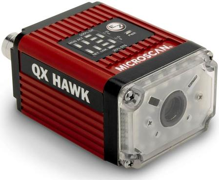 QX Hawk imager,  world's highest performance barcode imager for multipurpose code reading and identification applications.