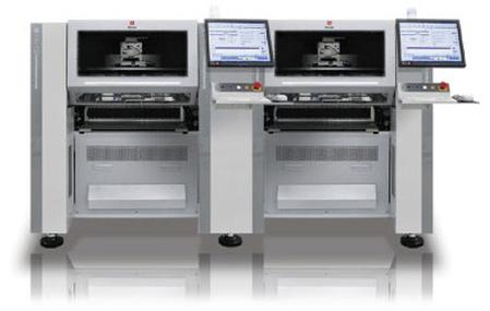 P3 combines the world's fastest printer and pick-and-place system ? the Touch Print Digital TD2929 and the Mx400LP Pick-and-Place System with tray and max feeders.