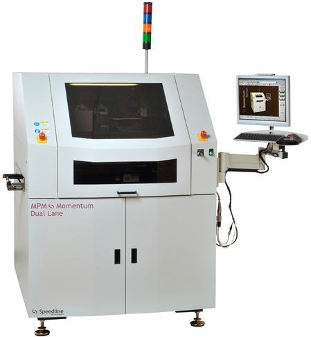 MPM Momentum Dual Lane Stencil Printer