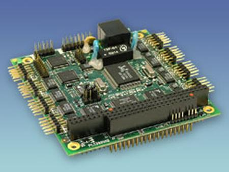 MultiComm PC/104 8-Port Serial Card with Ethernet & CAN