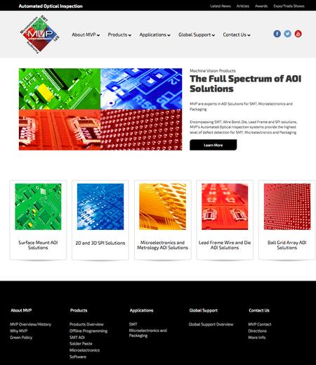 Machine Vision Products New Website