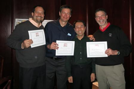 From left to right: Mike Scimeca, President of FCT Assembly, Tom Scimeca, President of FCT Asia, Tetsuro Nishimura, President of Nihon Superior, and Wayne Wagner, President of Krayden, Inc.