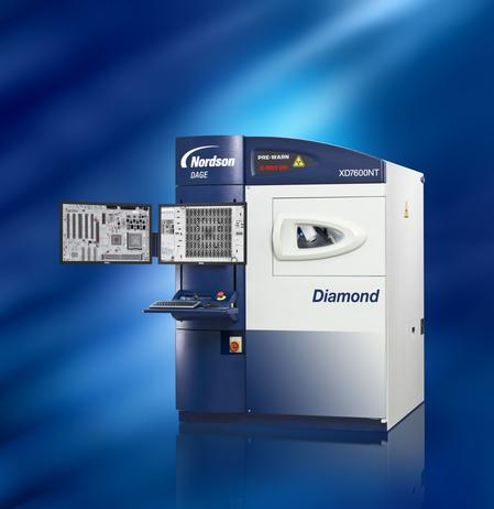 XD7600NT Diamond FP X-ray inspection system