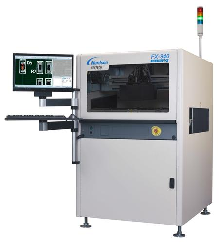 The Nordson YESTECH FX-940 ULTRA 3D AOI.