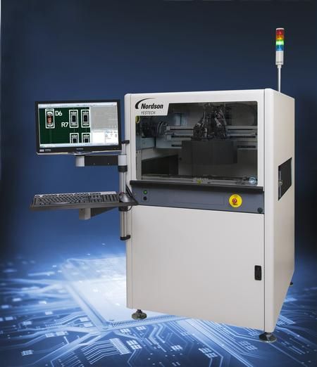 The Nordson YESTECH FX-940 Automated Optical Inspection (AOI).