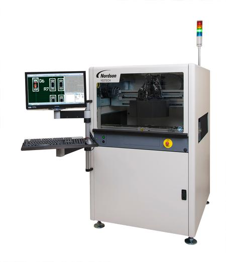 FX-942 dual sided PTH automated optical inspection system.
