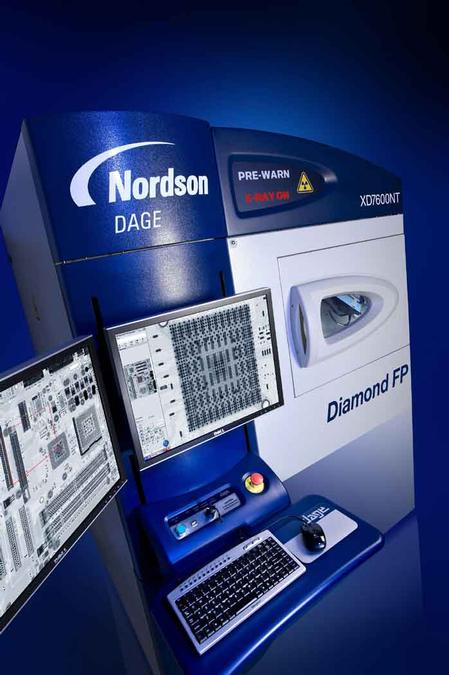 The XD7600NT Diamond FP, Nordson DAGE's new flagship system.