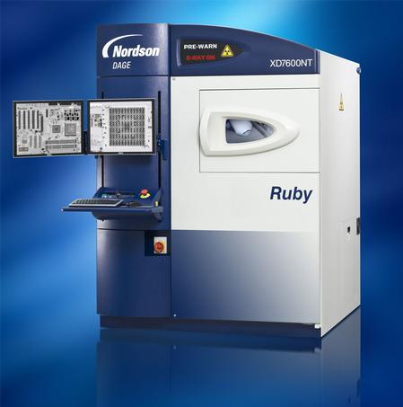 The Nordson DAGE XD7600NT500 Ruby X-ray uses the latest technology image intensifier and proven feature recognition capability to provide the ultimate choice for the highest quality in X-ray imaging on the market today.