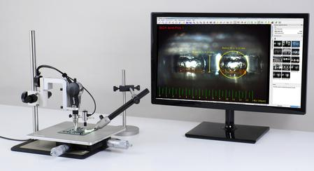 Optilia´s BGA solder Inspection system.