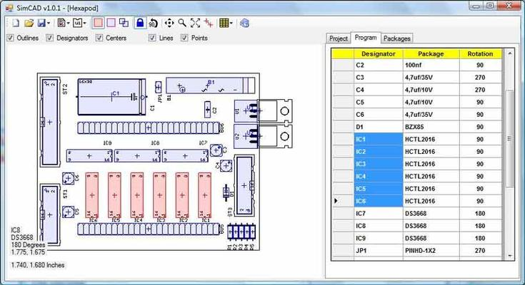 eagle cad file for pick and place - SMT Electronics Manufacturing - 1