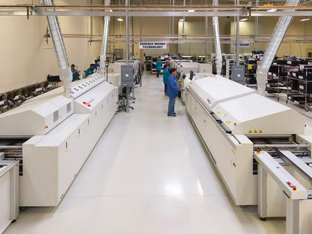 Two PYRAMAX™ 125A Reflow Ovens