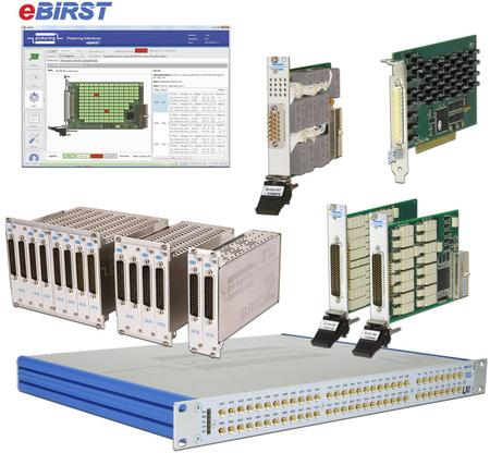 eBIRST™ switching system test tools.