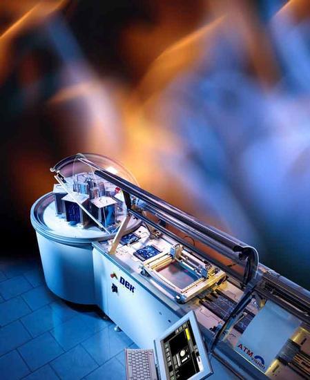 PVP1200 solar screen printer.
