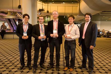 Printed Electronics Europe 2013 Award Winners