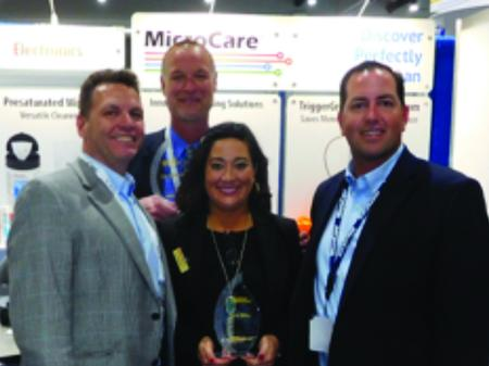 MicroCare Representative of the Year was awarded to Restronics SouthEast. 