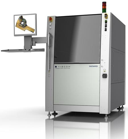 Viscom's inspection system S6056 MID