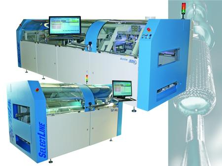 SEHO SelectLine selective soldering systems.