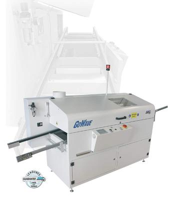 SEHO GoWave - Wave Soldering Machine for Small Production Volumes.