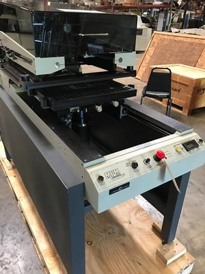 MPM SP200 Semi Auto Screen Printer
