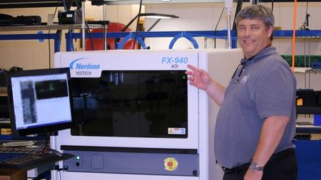 Nordson YESTECH FX-940 ULTRA 3D Automated Optical Inspection (AOI) system.